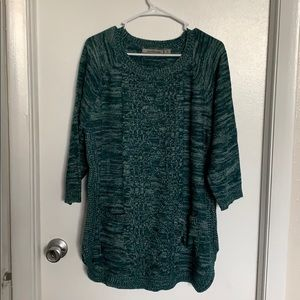 Jason Maxwell 3/4 sleeve sweater 1X